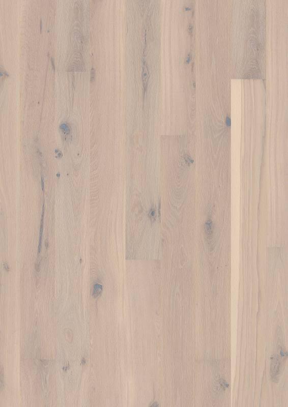 Parchet stratificat alb Oak Pale White Plank