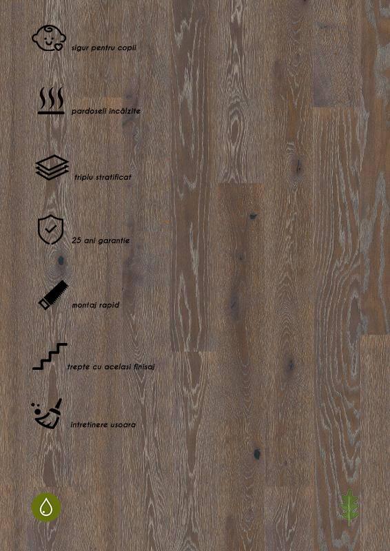 Parchet stratificat gri_Oak Graphite Plank