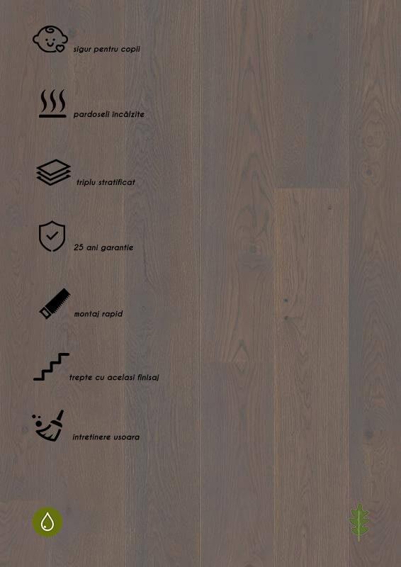 Parchet stratificat gri_Oak Grey Pepper Castle Plank