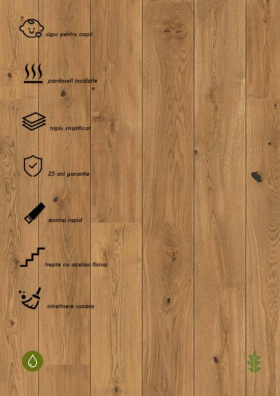 Parchet stratificat stejar_Oak Alamo plank 181