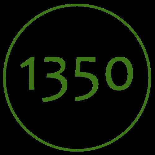 1350mm